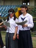高校野球兵庫大会の開会式司会