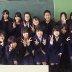 川西緑台高校と交流会