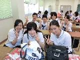 富山国際大学附属高校が来校&ティーンズビデオ2013