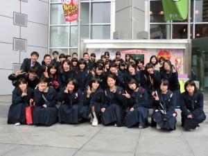 合宿&関西テレビ見学会
