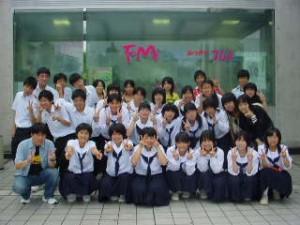 61回生がFM生放送に初挑戦!