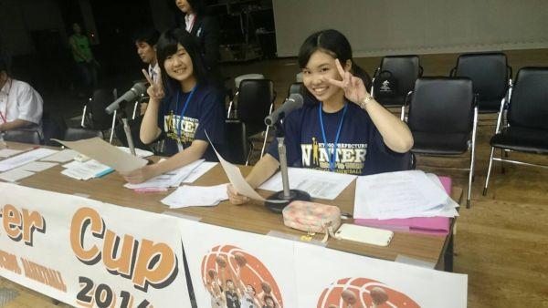 2016ウィンターカップ兵庫県予選 司会